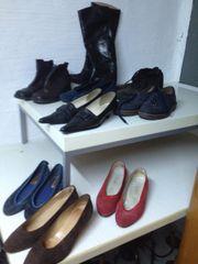 Gr 39 Leder-Schuhe Stiefel Trachtenschuhe