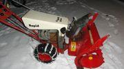 Rapid 204 Schneefräse