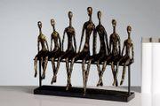 Skulptur Deko - 7 Männer in
