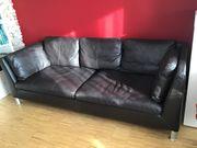 Couch Leder Ikea Stockholm dunkekbraun