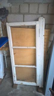 altes Fenster ohne