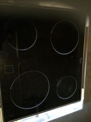 Whirlpool Glaskeramik Kochfeld/