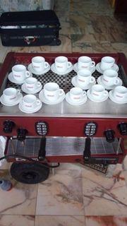 Espresso Geschirr 14 teilig Brasilia