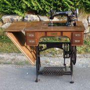 Antik Antiquität Adler-Nähmaschine D R