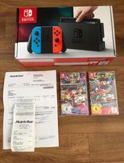 Nintendo Switch Blau