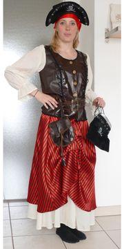 Piratin Kostüm f.