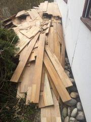 Parkettbodenholz zu verschenken