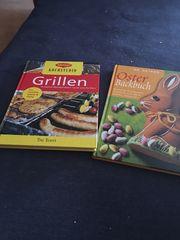 Verschiedene Kochbücher und Backbücher zu