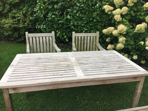 Terrassenmöbel teakholz  Gartenmöbel Teakholz von INNatura in München - kaufen und verkaufen ...