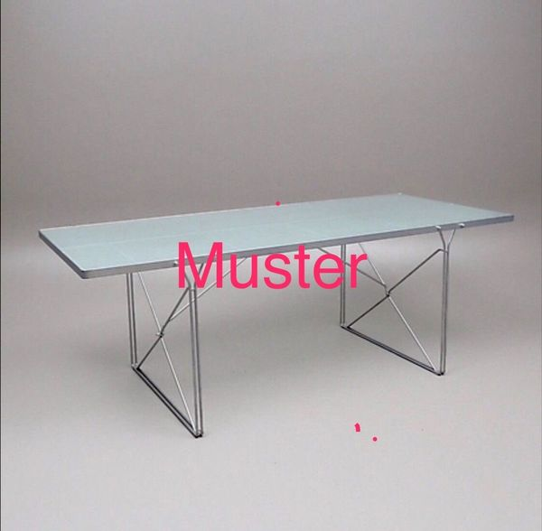 IKEA MOMENT Glastisch Schreibtisch Esstisch