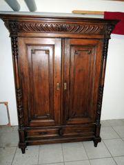 Dielenschrank Garderobenschrank Gründerzeit ca 1890 -