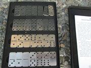 Edelstahl-Domino in
