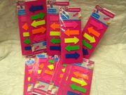 14 Pakete Hinweissticker