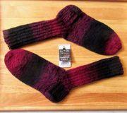 Handgestrickte Socken Schoppel