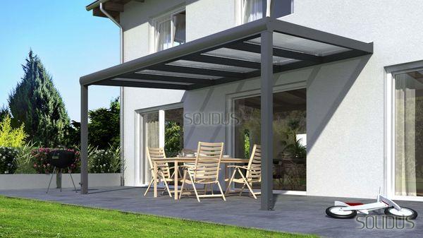 Terrassenuberdachung Terrassendach Holz Bsh Oder Alu Mit Stegplatten