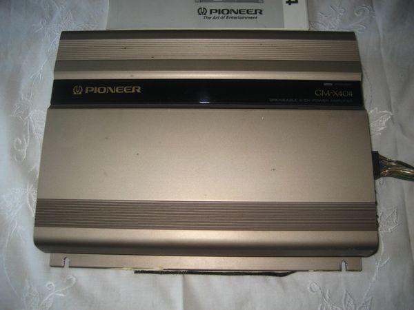 PIONEER GM-X404 » Auto HiFi/-Boxen
