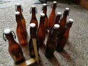 Münchner alte Bierflaschen,