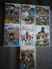 7 Wii Spiele