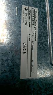Cerankochfeld Siemens EKT