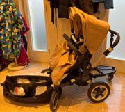 Bugaboo Donkey Kinderwagen mit Zubehör