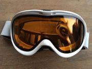 Skibrille Erwachsene Uvex weiß Modell