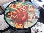 Coca Cola Tisch 2 Stühle