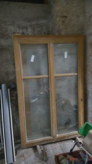 3 neue Fenster Hartholz Merantie