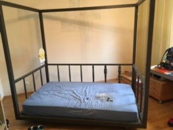 Himmelbett kinder 1,40  Himmelbett vollholz in Vaterstetten - Betten kaufen und verkaufen ...