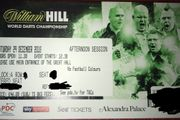 4 Tickets World Darts Championship