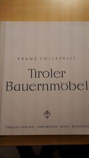 Fachbuch - Tiroler Bauernmöbel