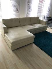 Ledercouch beige  Ledercouch Beige - Haushalt & Möbel - gebraucht und neu kaufen ...