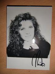 Autogrammkarte Nicki