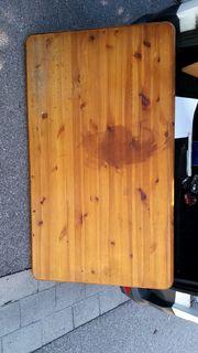massive Holzplatte 130 x 76