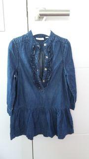 Kleid Jeansoptik Gr 98 104