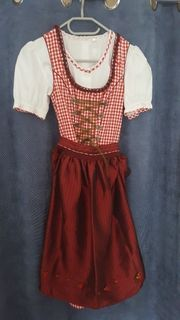 Dirndl Bluse Rock in Gr