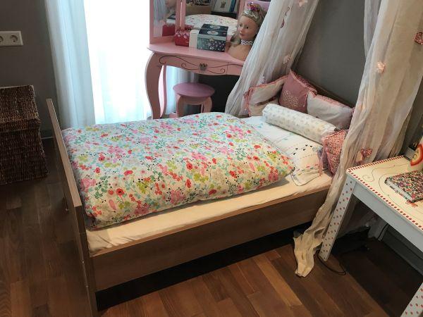 paidi kinderbett gitterbett set mit h sler nest system und. Black Bedroom Furniture Sets. Home Design Ideas