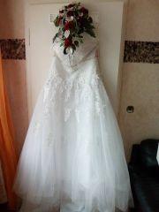 NEUWERTIG !!! Brautkleid mit