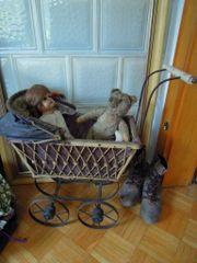 Dachbodenfund Teddy Puppe