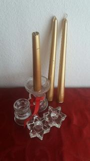 4 Advent Kerzenhalter Kerzen