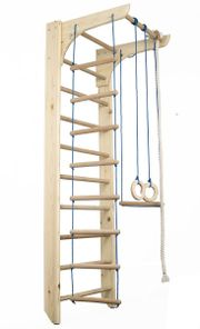 Sprossenwand Kletterwand Holz