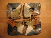 Weihnachten Adventskranz 4 Puzzleteile Ton