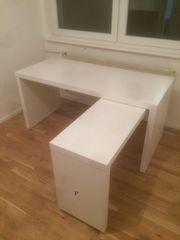 Weißer schöner Schreibtisch zu verkaufen