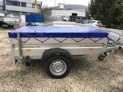 Pkw-Anhänger Tieflader HUMBAUR 1000 Kg