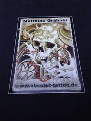 1x Aufkleber Sticker von Tattoostudio