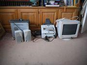 Computer, Fax, Lautsprecher,