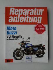 Reparaturanleitung Moto Guzzi