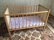 Praktisches Kinderbett/ Gitterbett