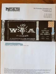 WACKEN Open Air Ticket 2019