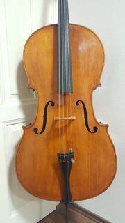 Old cello alte violoncello viola