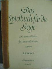 Spielbuch für die Geige - Stücke